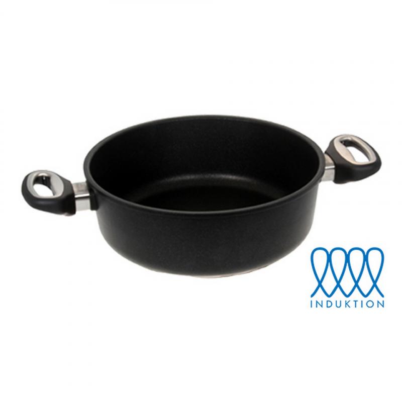 Guss-Bratenkasserolle - Ø 28 cm (für Induktionsherde)