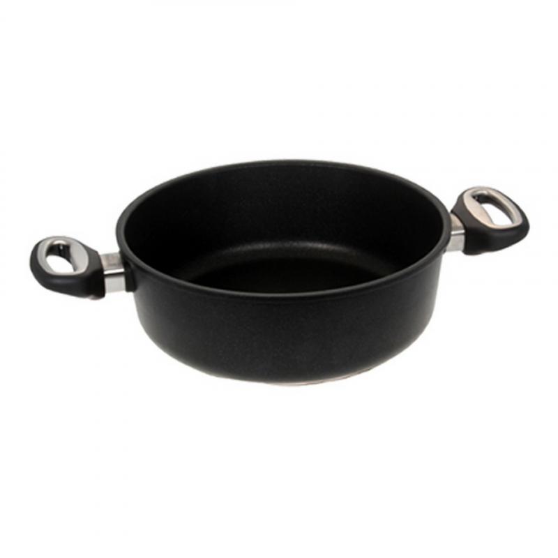 Guss-Bratenkasserolle - Ø 28 cm