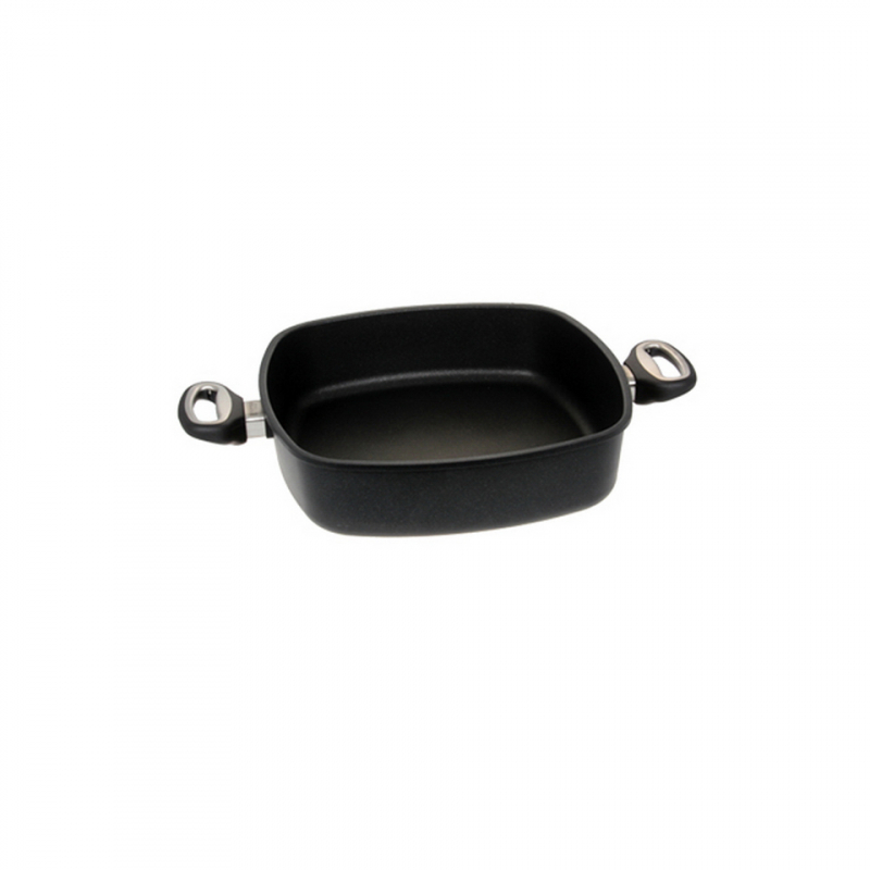 Guss-Quadratkasserolle - 21 cm