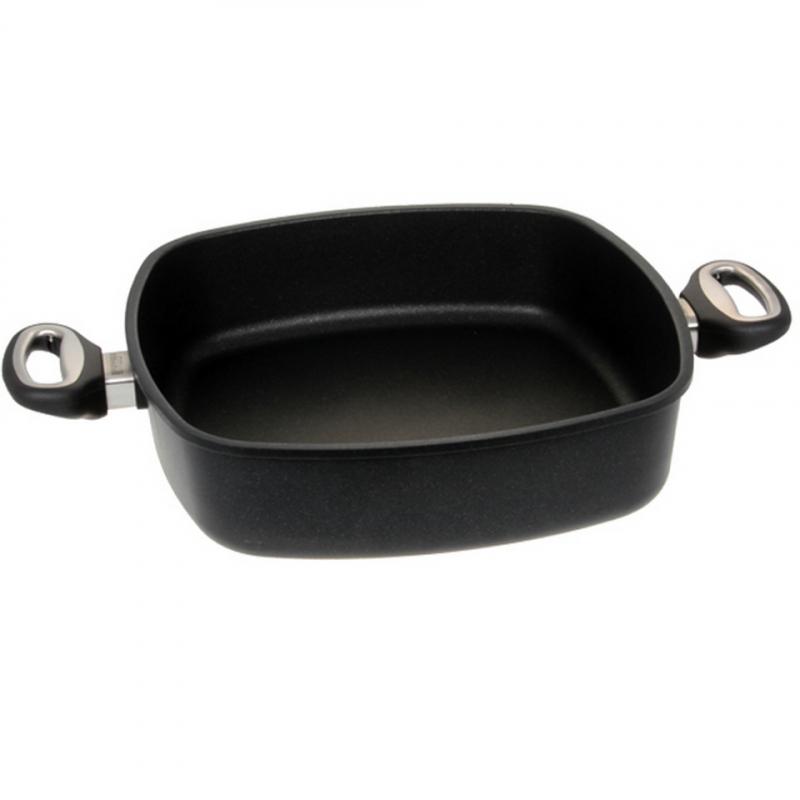 Guss-Quadratkasserolle - 29 cm