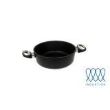 Guss-Bratenkasserolle - Ø 20 cm (für Induktionsherde)