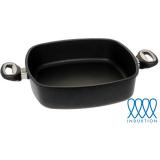 Guss-Quadratkasserolle - 29 cm (für Induktionsherde)