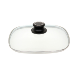 Sicherheits-Glasdeckel -  27 cm