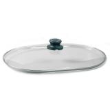 Sicherheits-Glasdeckel - Oval 42 cm